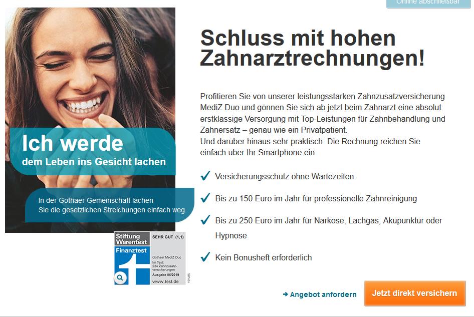 Gothaer single versicherung